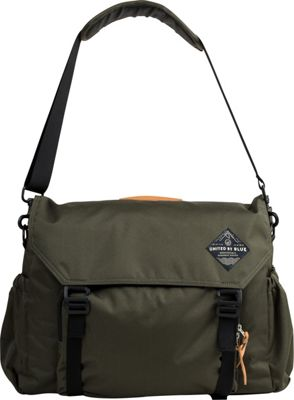 United by Blue United by Blue Crossridge Messenger Olive - United by Blue Messenger Bags