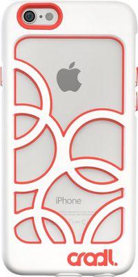 cradl. iPhone 6/6s Bubbles Case Snow/Crimson - cradl. Electronic Cases