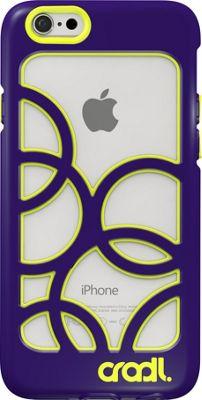 cradl. iPhone 6/6s Bubbles Case Violaceous/Lightning - cradl. Electronic Cases