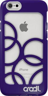 cradl. iPhone 6/6s Bubbles Case Violaceous/Storm - cradl. Electronic Cases