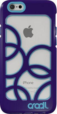 cradl. iPhone 6/6s Bubbles Case Violaceous/Aqua - cradl. Electronic Cases