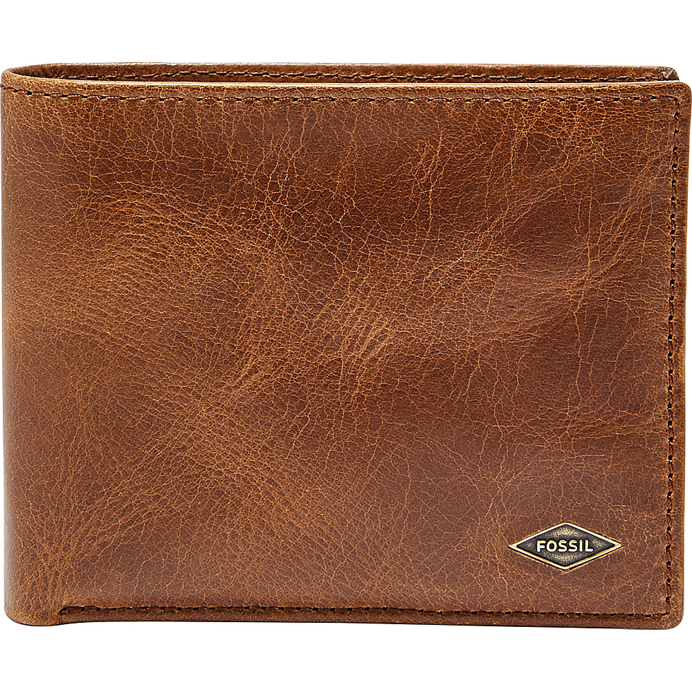 Fossil Ryan RFID Passcase Brown - Fossil Mens Wallets - Work Bags & Briefcases, Men's Wallets
