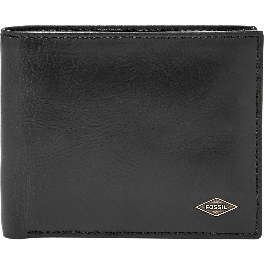 Fossil Ryan RFID Passcase Black - Fossil Mens Wallets - Work Bags & Briefcases, Men's Wallets