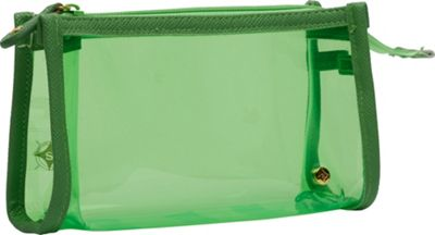 Stephanie Johnson Stephanie Johnson Miami Small Zip Cosmetic Case Green - Stephanie Johnson Women's SLG Other