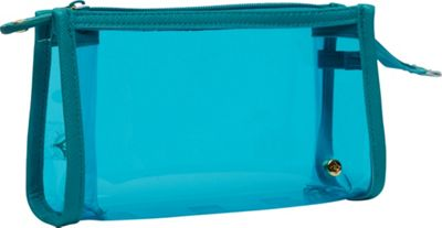 Stephanie Johnson Miami Small Zip Cosmetic Case Blue - Stephanie Johnson Women's SLG Other