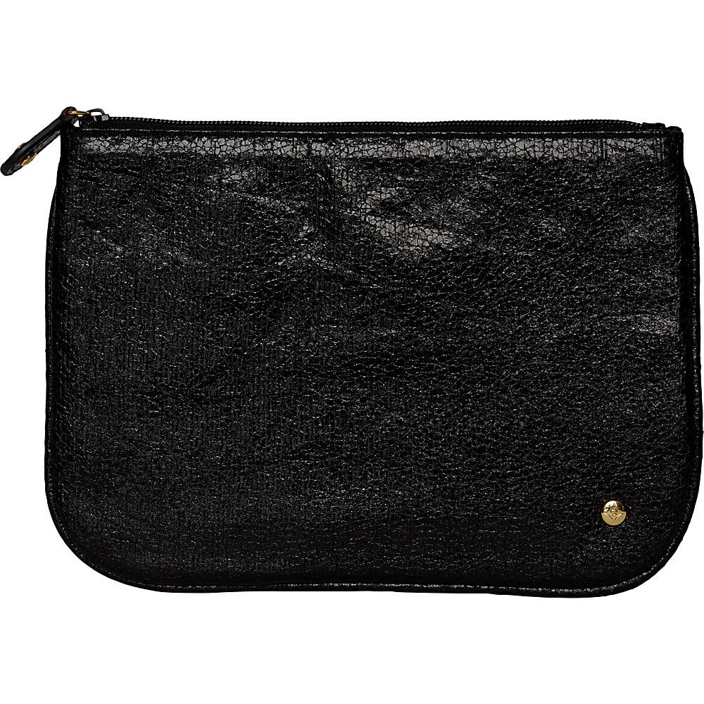 Stephanie Johnson Tinseltown Large Flat Cosmetic Pouch Black Stephanie Johnson Women s SLG Other