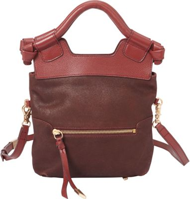 Foley + Corinna Disco City Crossbody Bordeaux - Foley + Corinna Designer Handbags