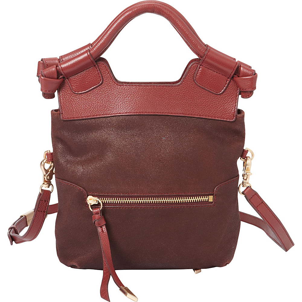 Foley Corinna Disco City Crossbody Bordeaux Foley Corinna Designer Handbags