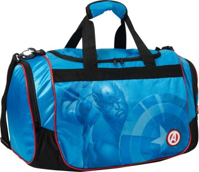 Hello Kitty Golf Captain America Duffel Bag Blue - Hello Kitty Golf Gym Duffels