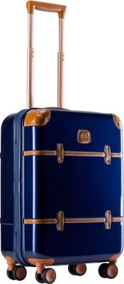 BRIC'S Bellagio Metallo 2.0 21 inch Carry-On Spinner Trunk Blue - BRIC'S Hardside Carry-On