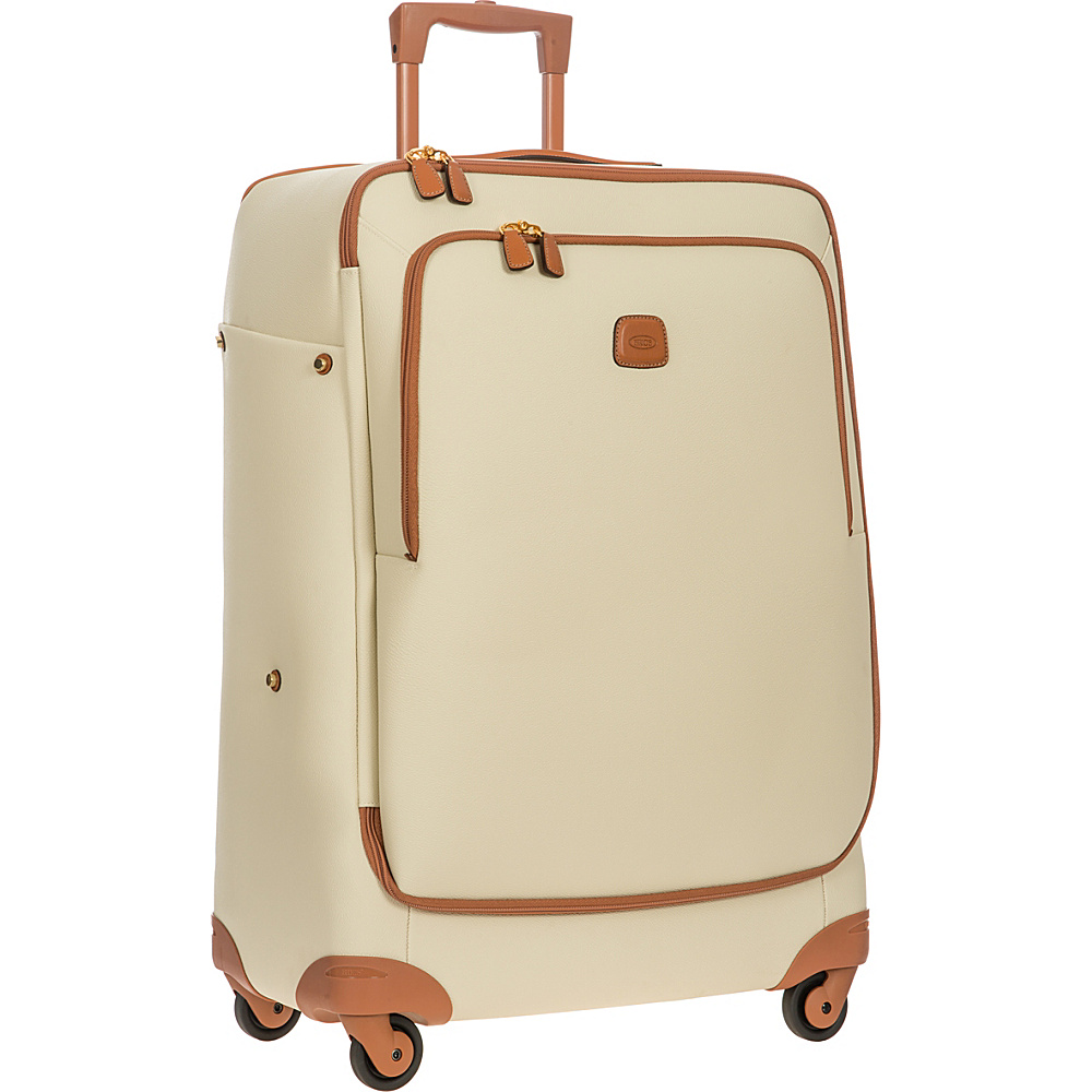 BRIC S Firenze 30 Light Spinner Cream BRIC S Softside Checked