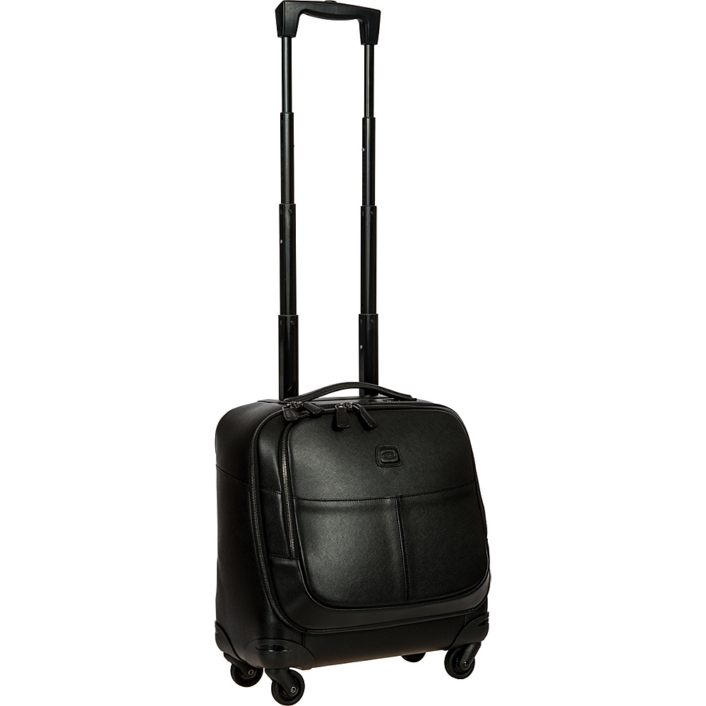 BRIC S Varese 17 Wheeled Mobile Office Spinner Black BRIC S Wheeled Business Cases