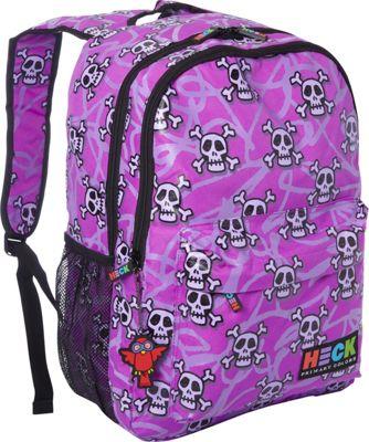 Ed Heck Luggage Multi Skull Backpack Multi Skull - Ed Heck Luggage Laptop Backpacks