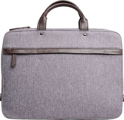 Setton Brothers Avanti Briefcase Grey - Setton Brothers Non-Wheeled Business Cases