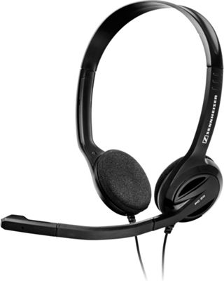 Sennheiser Wired Headset Black - Sennheiser Headphones & Speakers