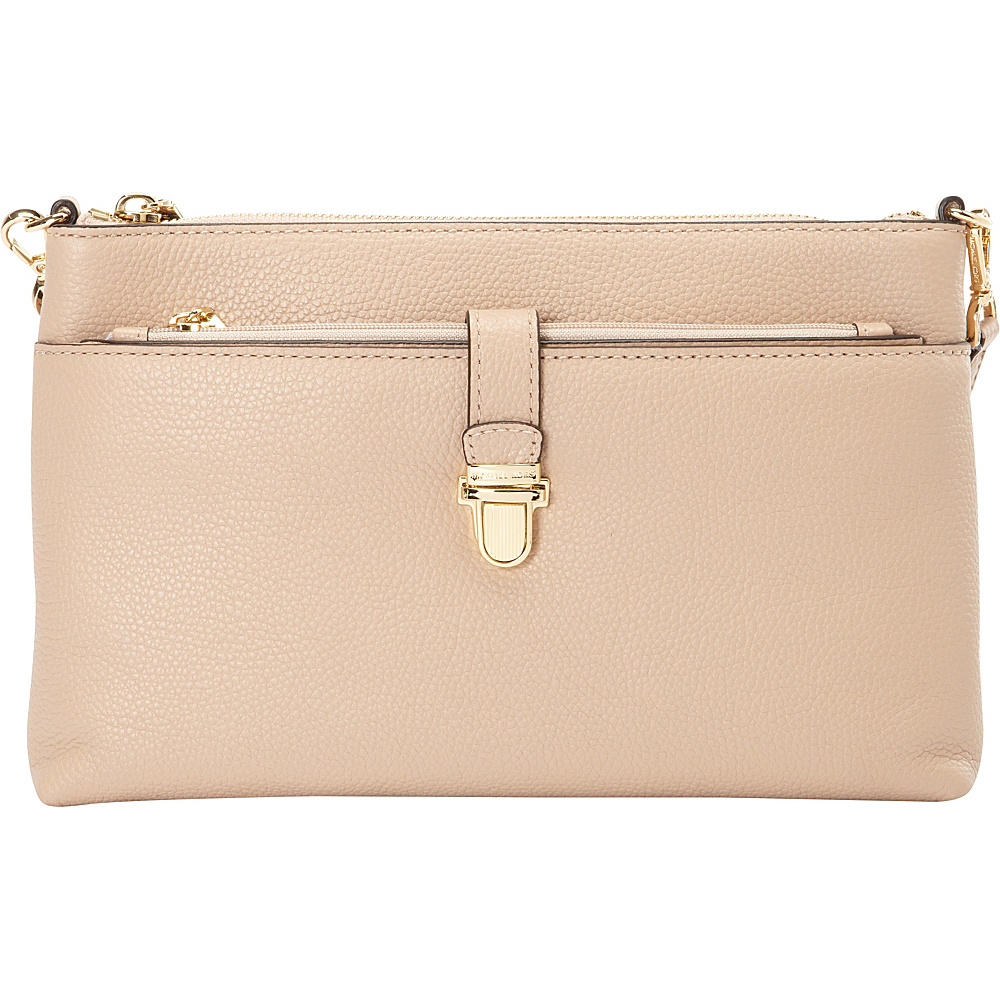 MICHAEL Michael Kors Mercer Large Snap Pocket Crossbody Oyster MICHAEL Michael Kors Designer Handbags