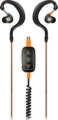 ToughTested Jobsite Dustproof NR Earbuds with EQ/Voice Control, Mic, & Volume Control Black - ToughTested Headphones & Speakers