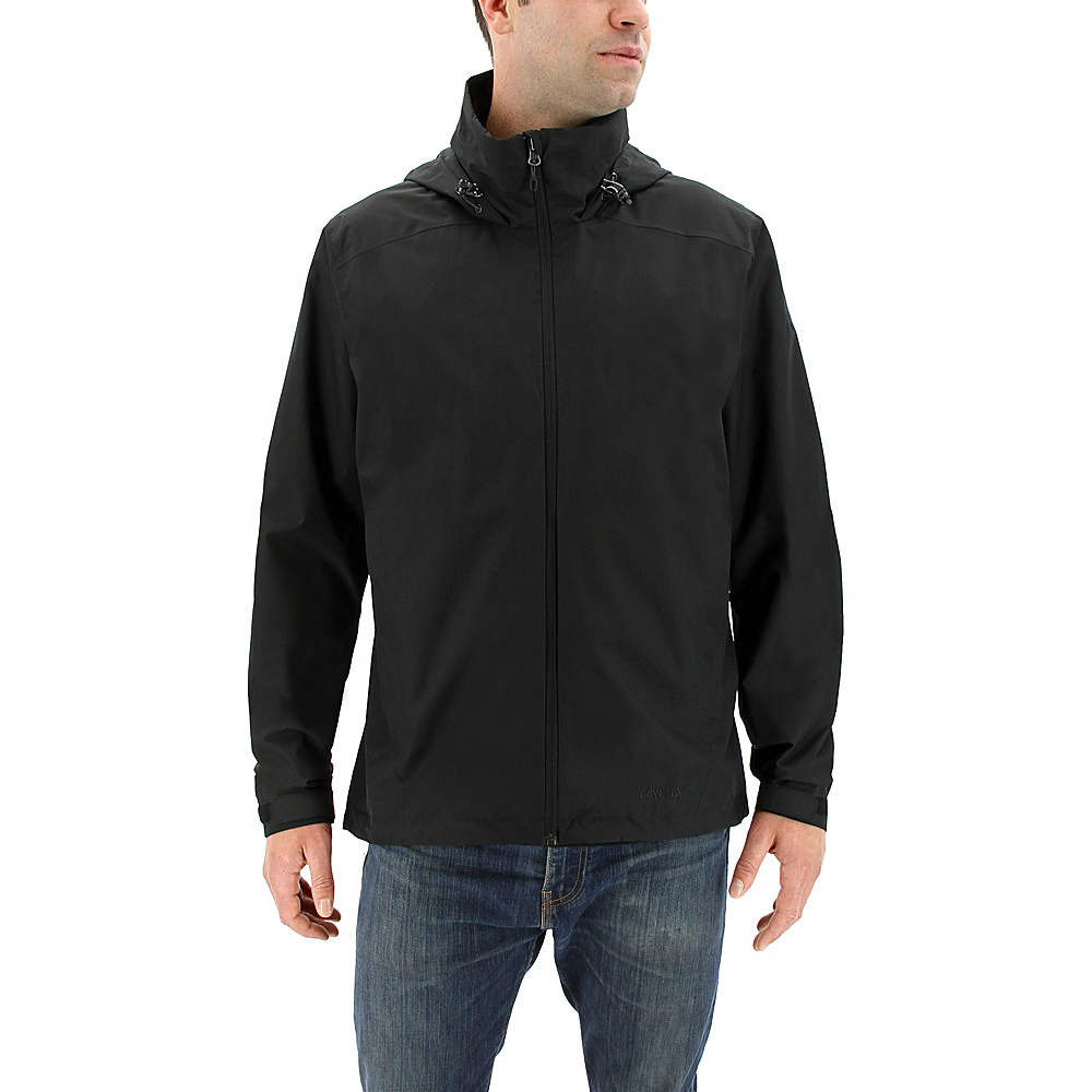 adidas outdoor Mens Gtx 2-Layer Wandertag Jacket S - Black - adidas outdoor Mens Apparel - Apparel & Footwear, Men's Apparel