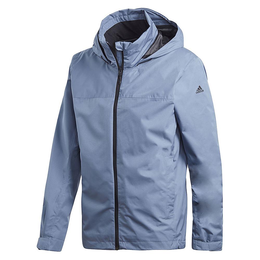 adidas outdoor Mens Wandertag Jacket S - Raw Steel - adidas outdoor Mens Apparel - Apparel & Footwear, Men's Apparel