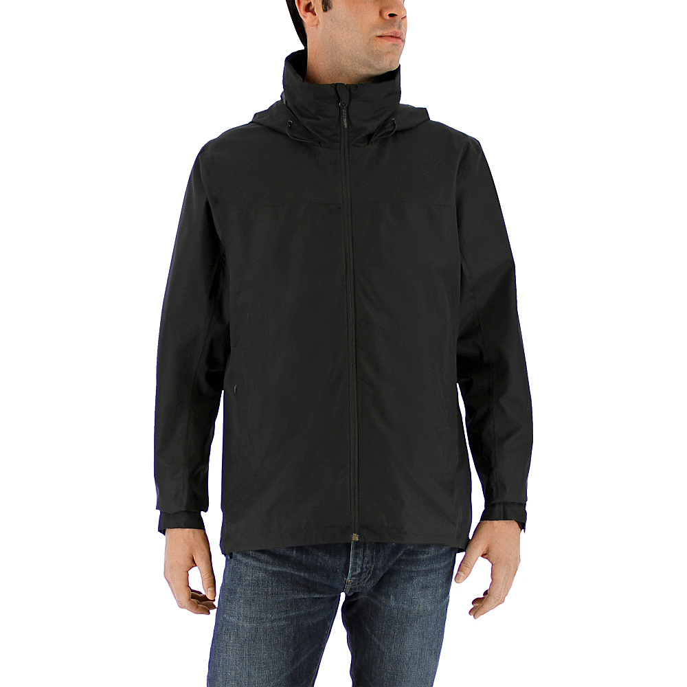 adidas outdoor Mens Wandertag Jacket M - Black - adidas outdoor Mens Apparel - Apparel & Footwear, Men's Apparel