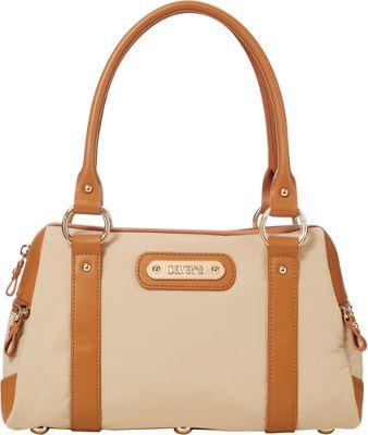 Davey's Doctor Bag Satchel Khaki - Davey's Fabric Handbags