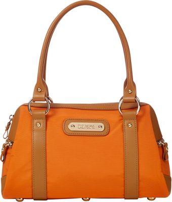 Davey's Doctor Bag Satchel Burnt Orange - Davey's Fabric Handbags