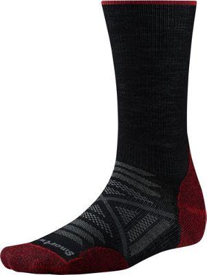 Smartwool PhD Outdoor Light Crew XL - Black - Smartwool Men's Legwear/Socks
