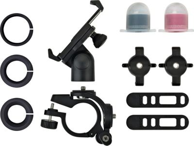 Joby GripTight PRO Bicycle Mount for Smartphones with Light Pack Black - Joby Camera Accessories