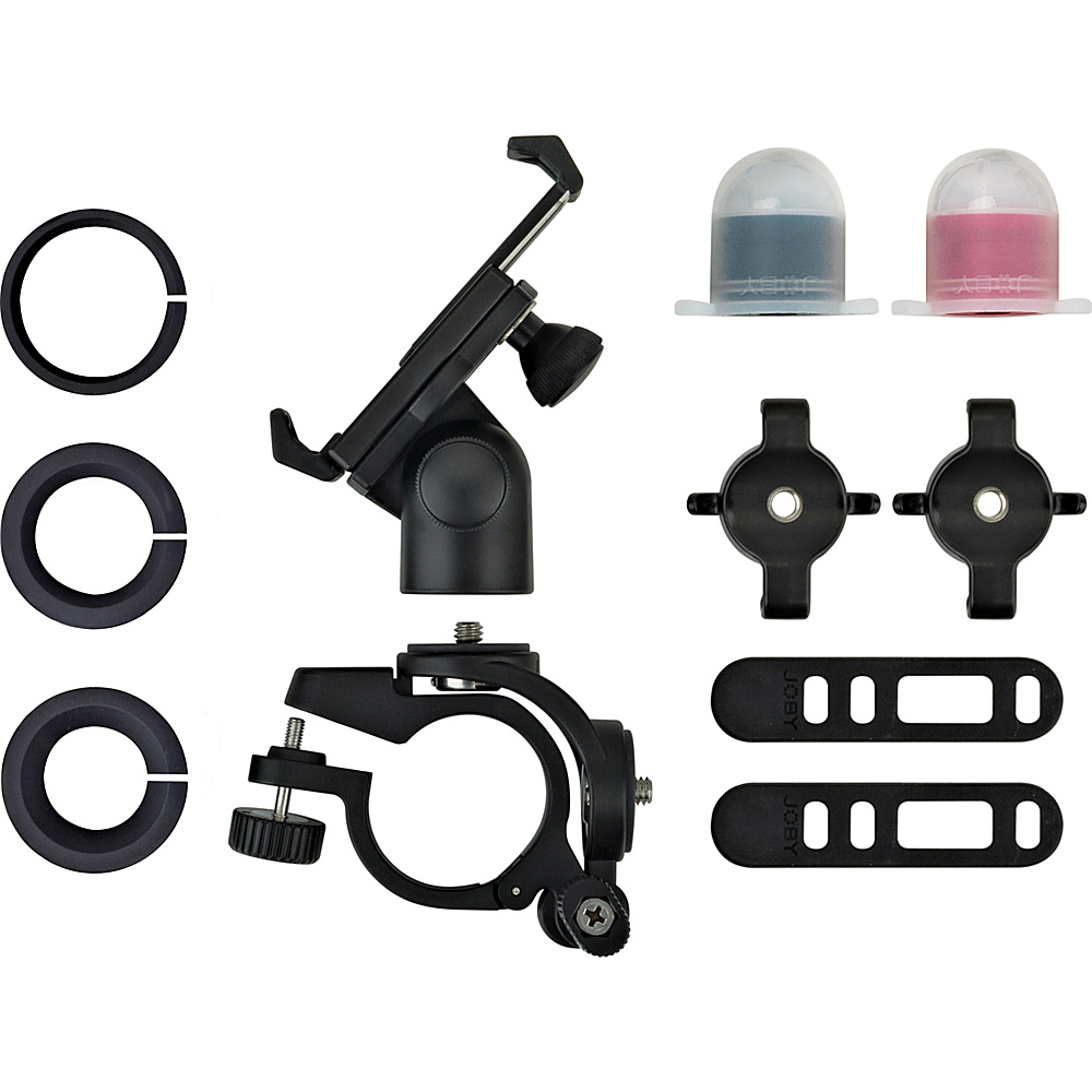 Joby GripTight PRO Bicycle Mount for Smartphones with Light Pack Black Joby Camera Accessories