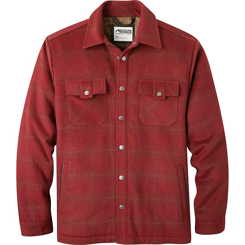 Mountain Khakis Sportsmans Shirt Jac L - Malbec - Mountain Khakis Mens Apparel - Apparel & Footwear, Men's Apparel