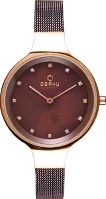 obaku watches womens stainless steel mesh 4 colors