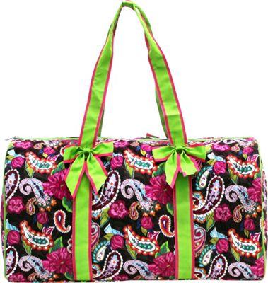 Rosenblue Sofia Duffel Bag Multi/Lime - Rosenblue Gym Duffels