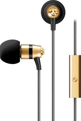 MEE Audio Crystal In-Ear Headphones with Microphone Gold - MEE Audio Headphones & Speakers
