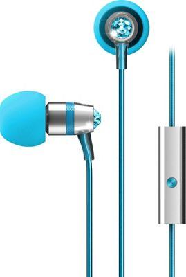 MEE Audio Crystal In-Ear Headphones with Microphone Turquoise - MEE Audio Headphones & Speakers