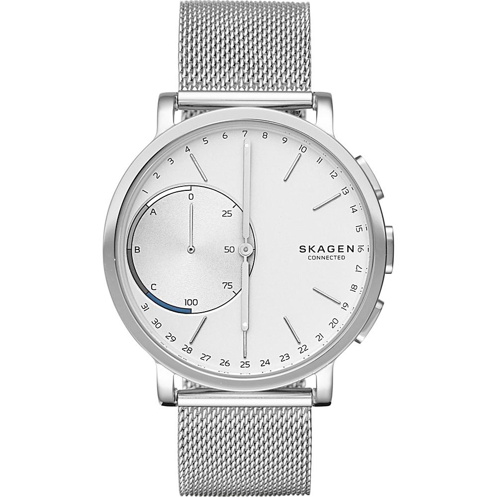 Skagen Hagen Connected Hybrid Smartwatch Silver - Skagen Wearable Technology