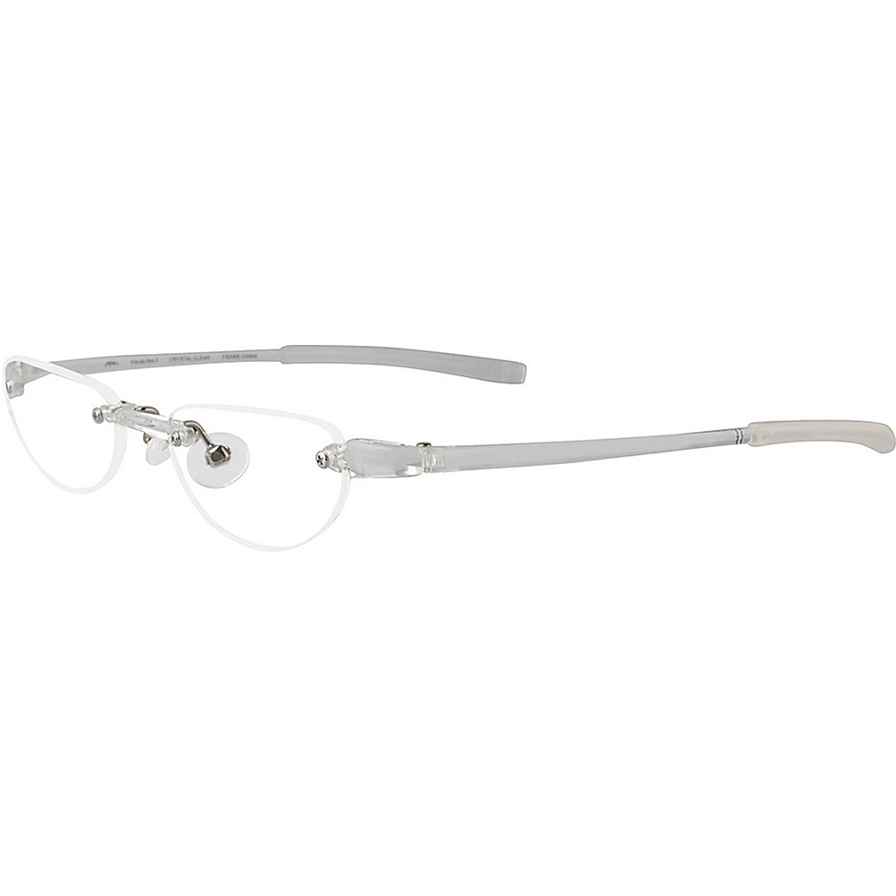 Visualites Half Moon Reading Glasses 2.50 Crystal Visualites Sunglasses