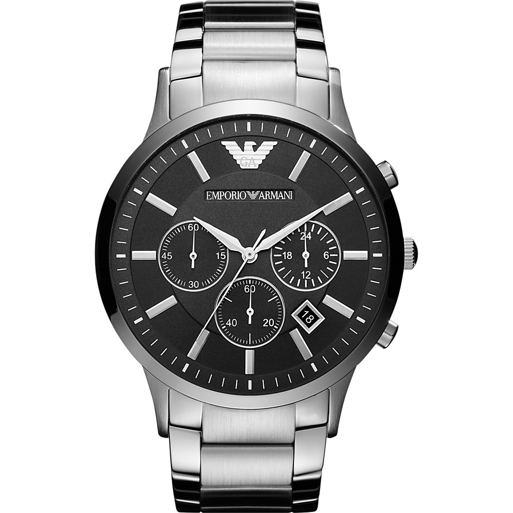 Emporio Armani Sportivo Watch Silver Emporio Armani Watches