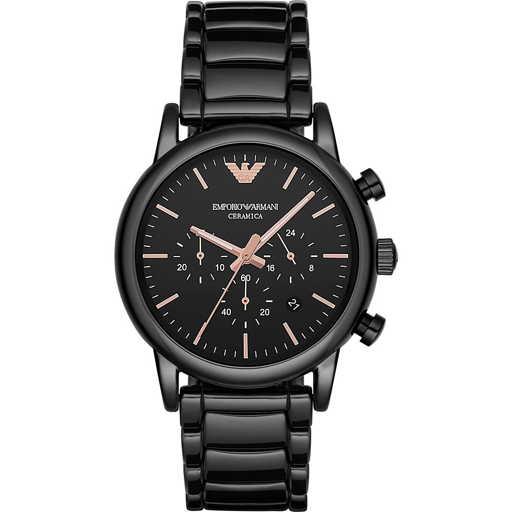 Emporio Armani Dress Watch Black Emporio Armani Watches