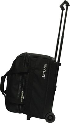 Pyramid Prime Double Roller Bowling Bag Black - Pyramid Bowling Bags