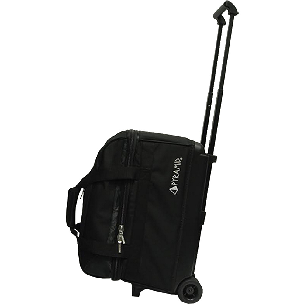 Pyramid Prime Double Roller Bowling Bag Black Pyramid Bowling Bags