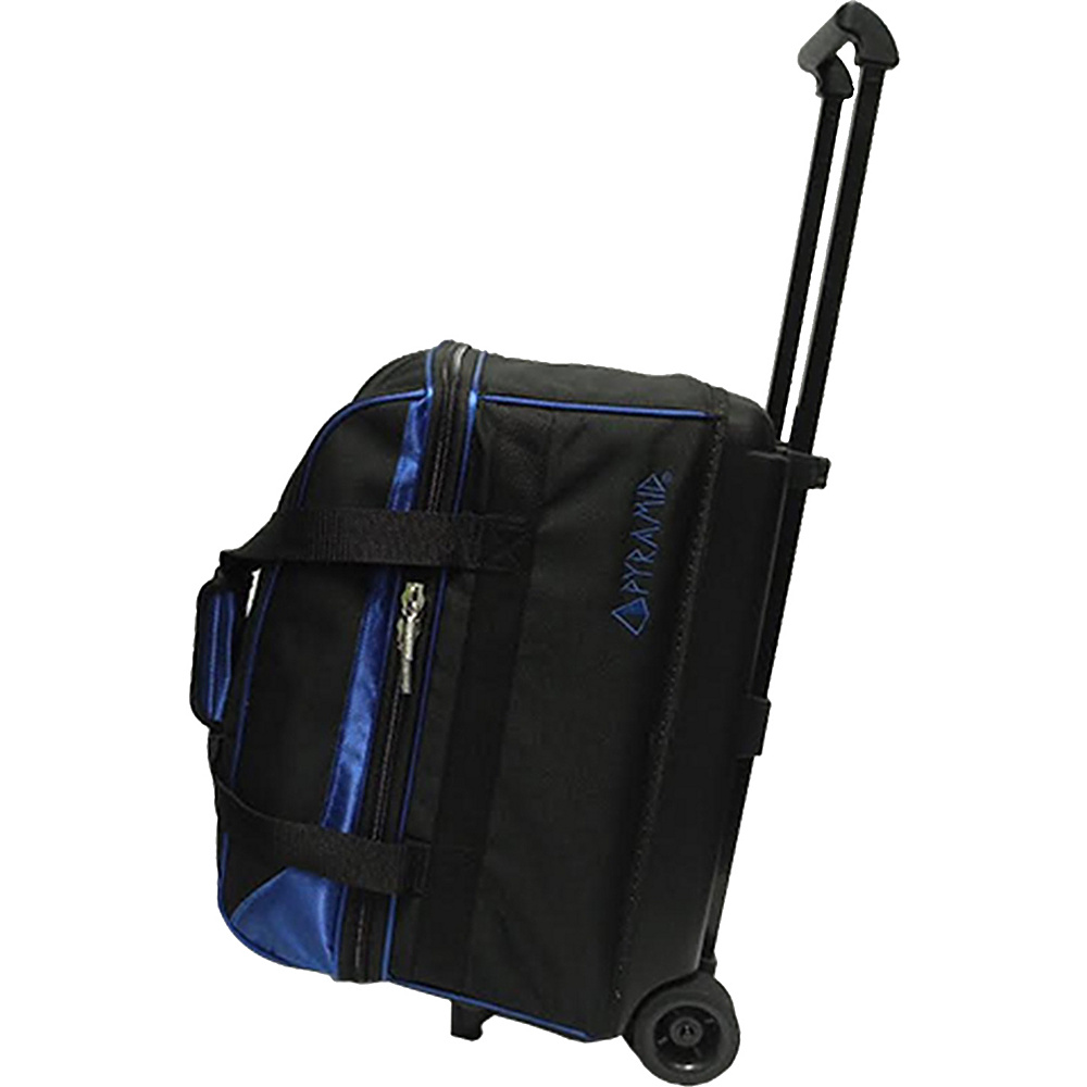 Pyramid Prime Double Roller Bowling Bag Blue Pyramid Bowling Bags