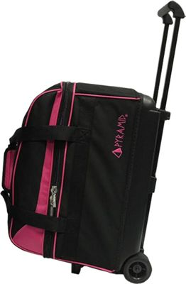 Pyramid Prime Double Roller Bowling Bag Hot Pink - Pyramid Bowling Bags