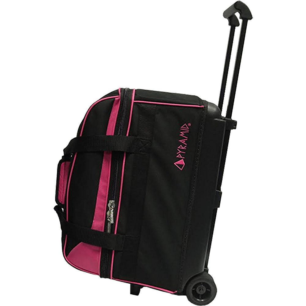 Pyramid Prime Double Roller Bowling Bag Hot Pink Pyramid Bowling Bags