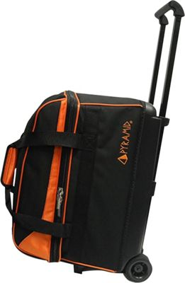 Pyramid Prime Double Roller Bowling Bag Orange - Pyramid Bowling Bags
