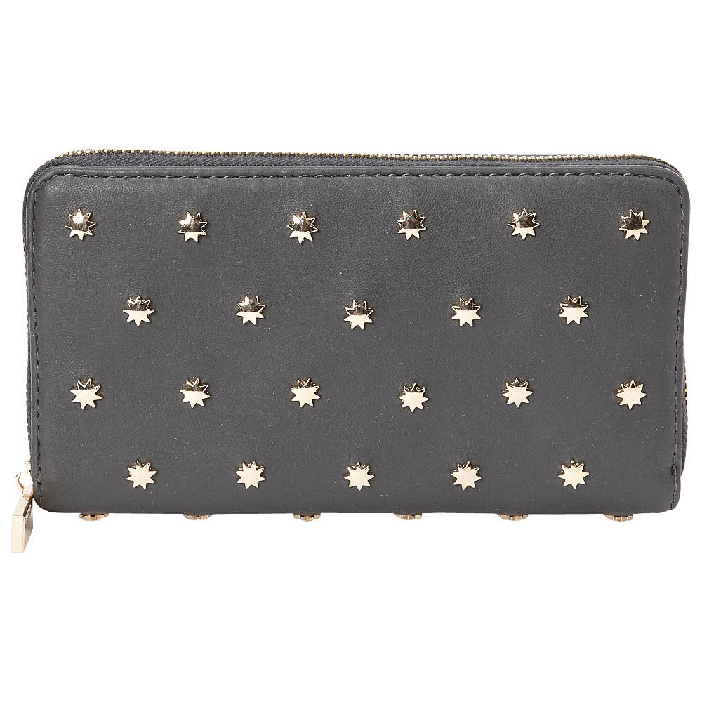 deux lux Etoile Wallet Charcoal deux lux Women s Wallets