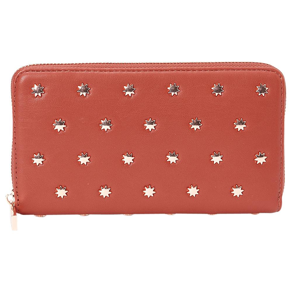 deux lux Etoile Wallet Rust deux lux Women s Wallets