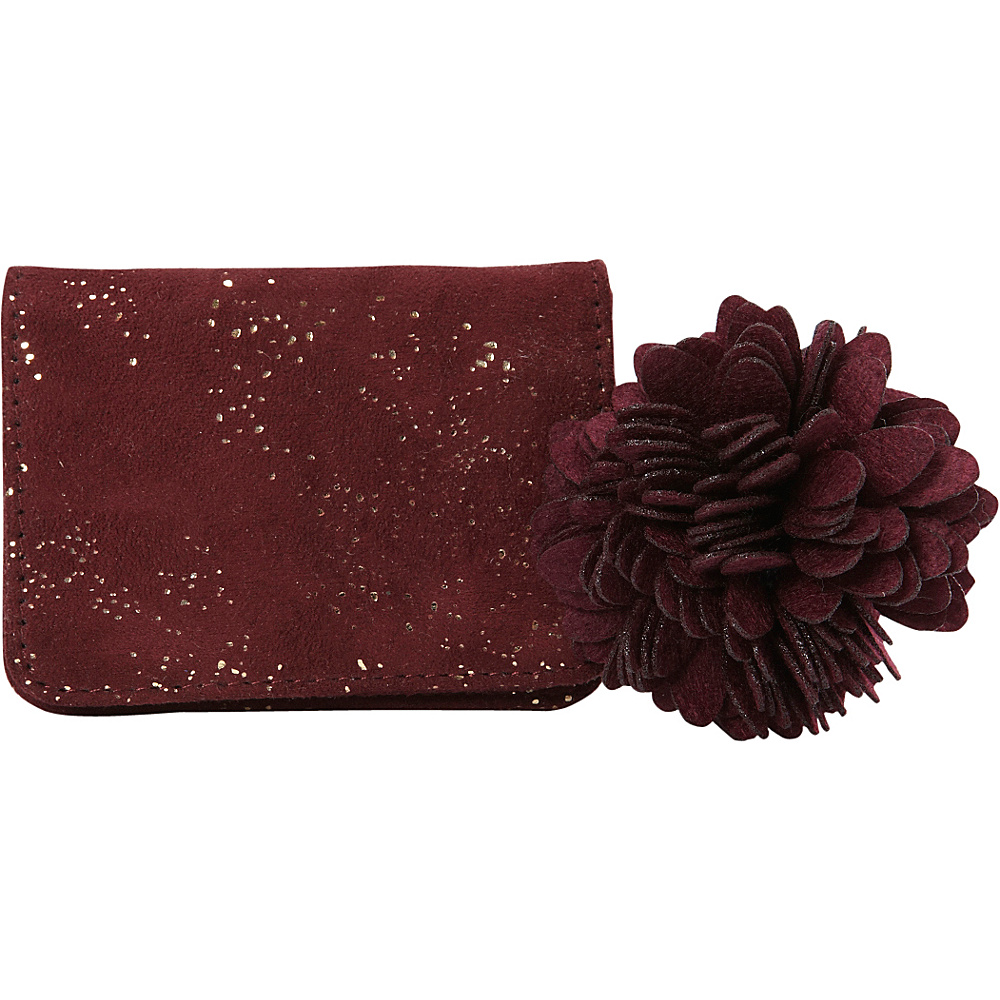 deux lux Dreamland Card Case Wine deux lux Women s Wallets