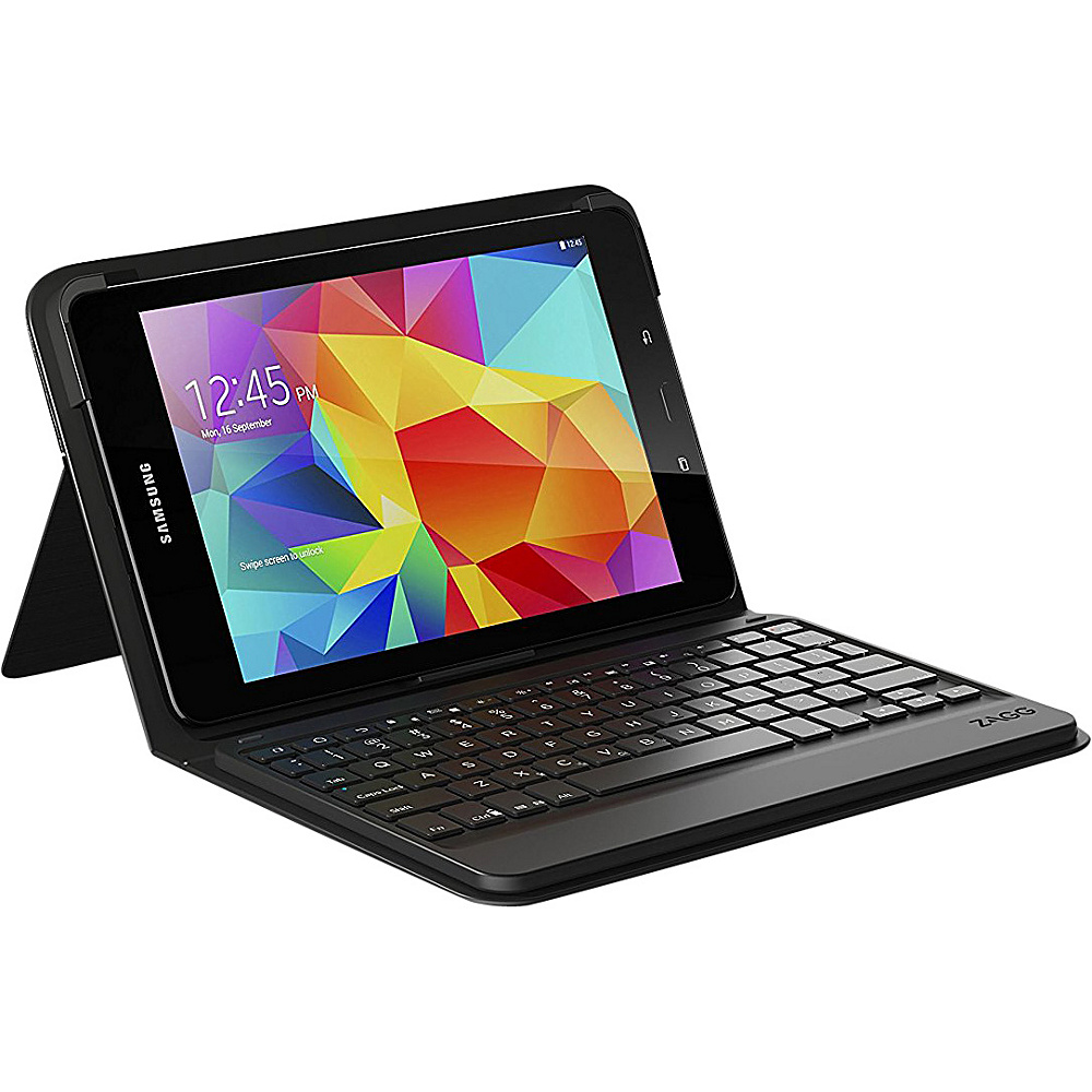 Zagg Messenger Folio Keyboard Case for Galaxy Tab E 9.7 Black Zagg Electronic Cases