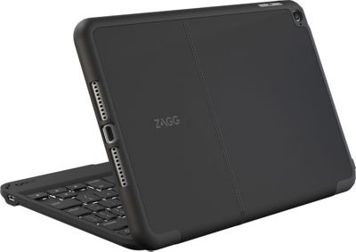 Zagg Hinged Folio Case Keyboard for iPad Mini 4 Black - Zagg Electronic Cases