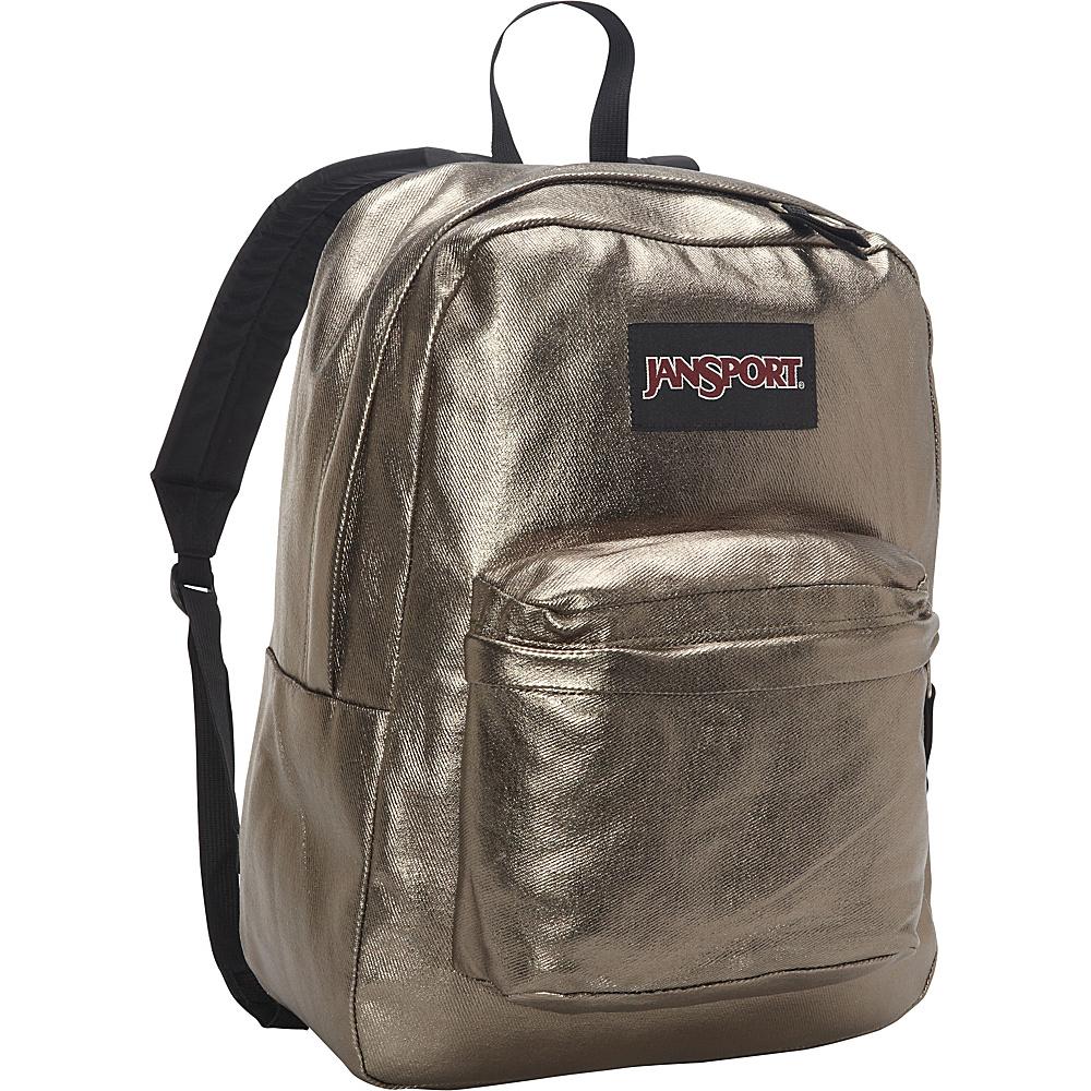 JanSport Super FX Series Backpack- Discontinued Colors Pewter Metallic Coat - JanSport School & Day Hiking Backpacks - Backpacks, School & Day Hiking Backpacks